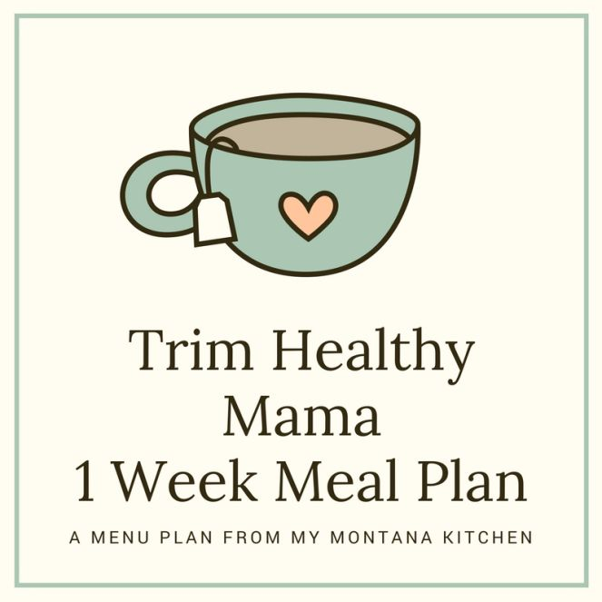 It's just an image of Ridiculous Trim Healthy Mama Meal Plan