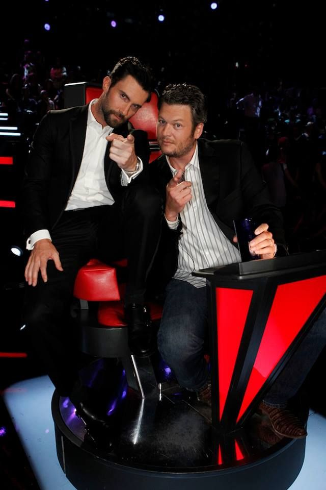 Adam Levine and Blake Shelton ~ A little bit of country, a little bit of rock-n-roll !!!