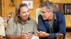 George Clooney and Beau Bridges at Tahiti Nui filming for The Descendants #Kauai