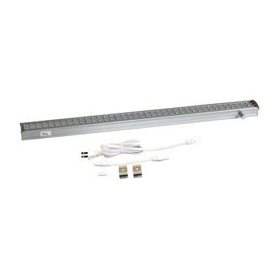 Radionic ZX515-D-WW 19-in Dimmable LED Linkable Under Cabinet Lighting Fixture with 80 2700K Warm White LEDs