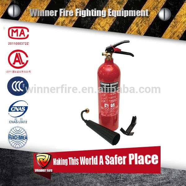 Top seller portable co2 fire extinguisher small type