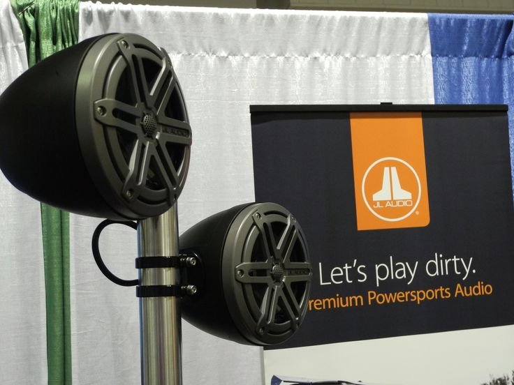 We were super excited to see JL Audio's brand new RD900/5 five-channel system amplifier on display, at this past weekend's 2016 MERA KnowledgeFest, in Indianapolis! Their display also showcased their premium marine and powersports lineup, including the weather proof ultra-bright MediaMaster 100s Marine source unit, speakers, subwoofers and amps! Nobody does JL better than California Custom Sounds!
