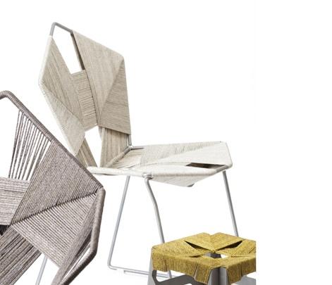 Der Israelische Designer Rami Tareef Hat Eine Sesselkollektion Namens COD Projekt  Entworfen. Das Besondere Hier Ist, Dass Die Struktur Der Designer Stühle