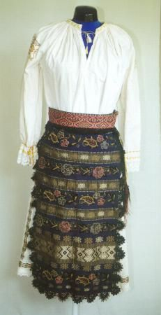 Women's costume from Banat
