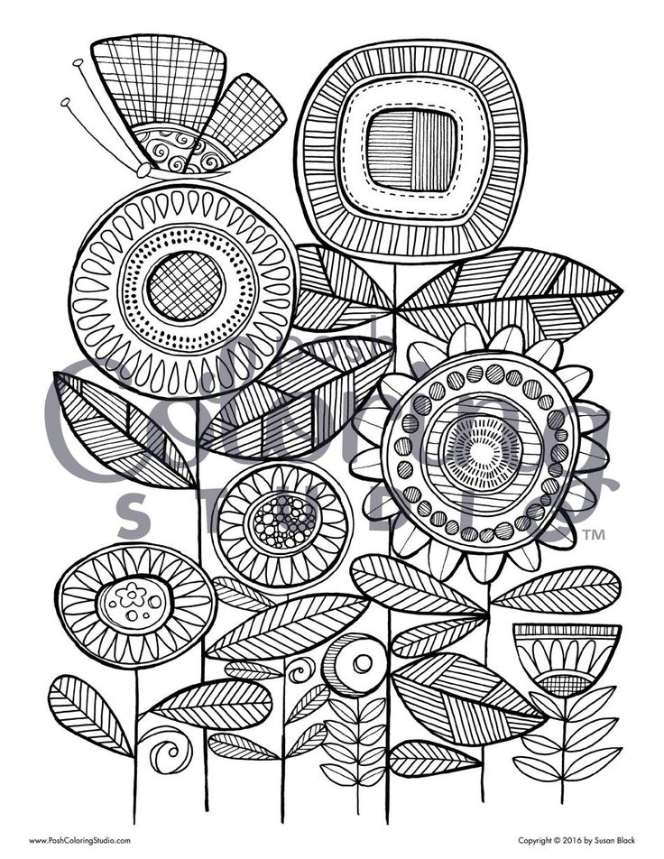 91 Best Posh Coloring Pages Images On Pinterest