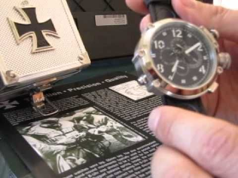 b uhr 52 mm U Boat watch review