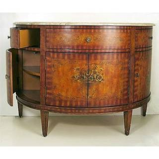 Check Out The Empire Industries Ver48 Versaille 48 Half Moon Vanity In Hand Painted Priced