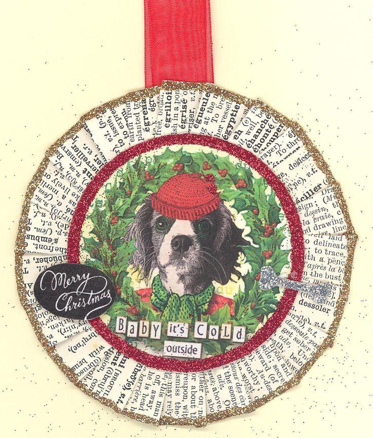 Cavalier King Charles Spaniel | King Charles Spaniel | Dog | Christmas Ornament | Vintage style by ONEINTHREEWOMEN on Etsy https://www.etsy.com/listing/208905266/cavalier-king-charles-spaniel-king