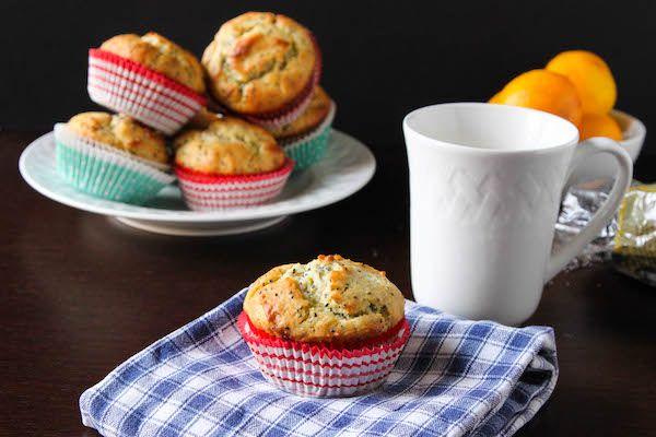 Healthier Meyer Lemon Chia Seed Muffins Recipe - The Corner Kitchen