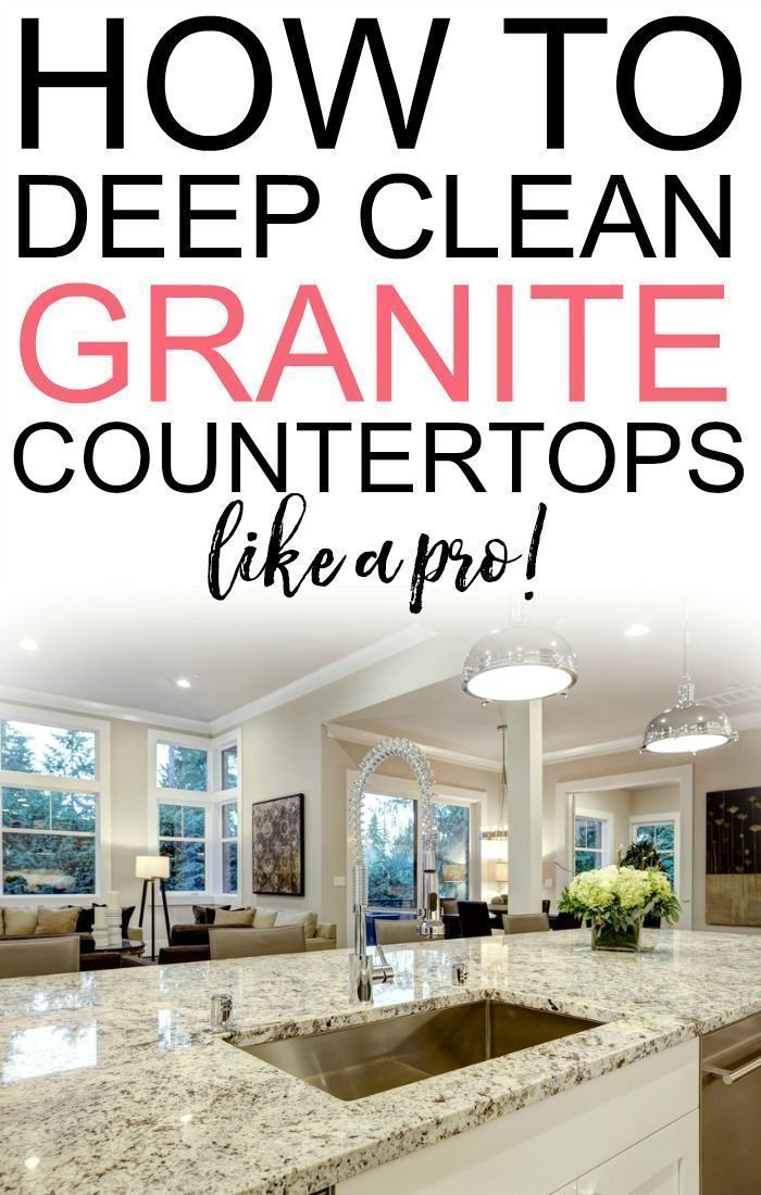 Have Your Granite Countertops Lost Their Shine Check Out How To Deep Clean Bring Back The Original And Beauty Of