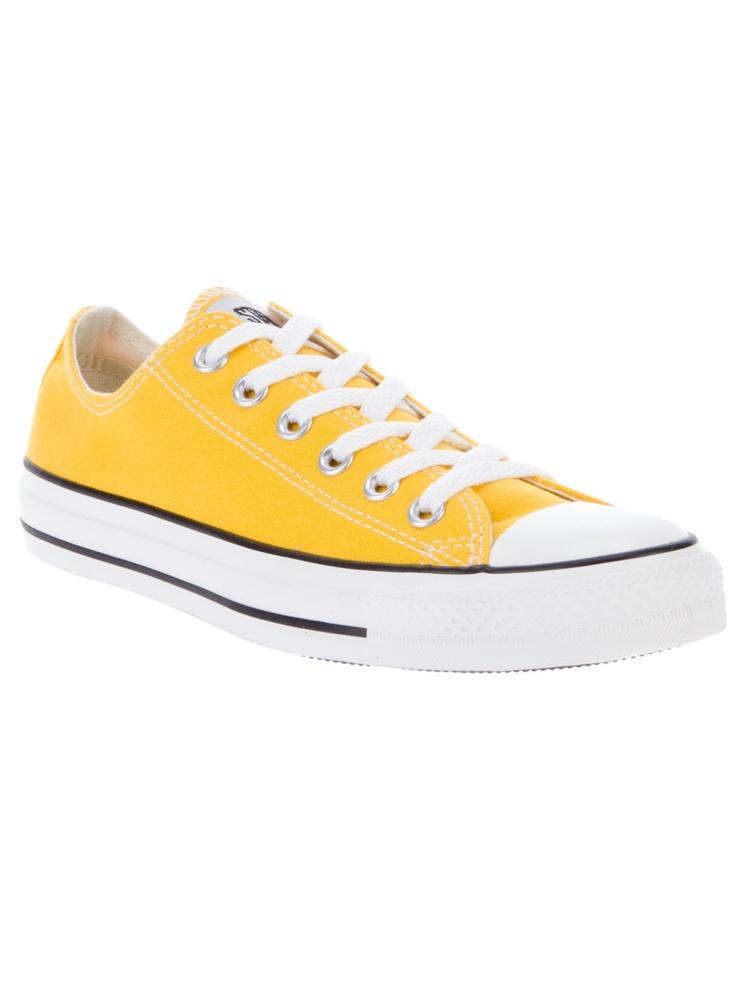 converse fluor jaune
