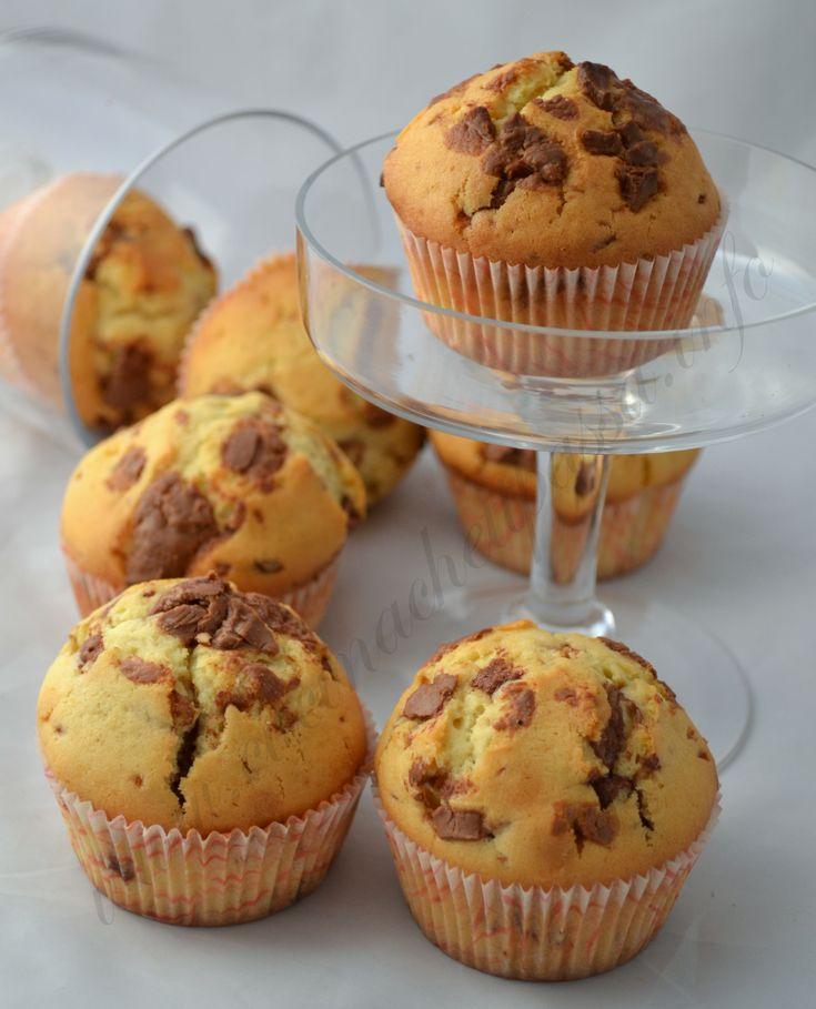 muffin vaniglia gocce di cioccolato al latte (51)