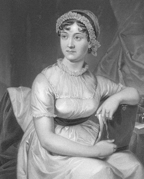"""Jane Austen (1775 - 1817) était une romancière anglaise dont les œuvres de fiction, décrivant la """"gentry"""" anglaise, lui a valu une place comme l'un des écrivains les plus lus de la littérature anglaise. Son réalisme et sa morale sociale mordante ont suscité un intérêt dépassant les milieux littéraires."""