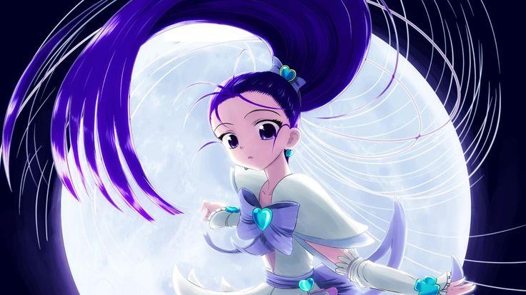 futari wa pretty cure splash star, girl, brunette - http://www.wallpapers4u.org/futari-wa-pretty-cure-splash-star-girl-brunette/
