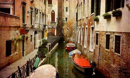 Venice back alleys.