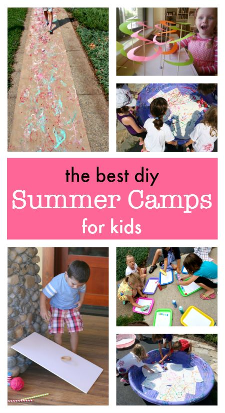 Brilliant diy Summer Camps for kids :: online summer camps for families