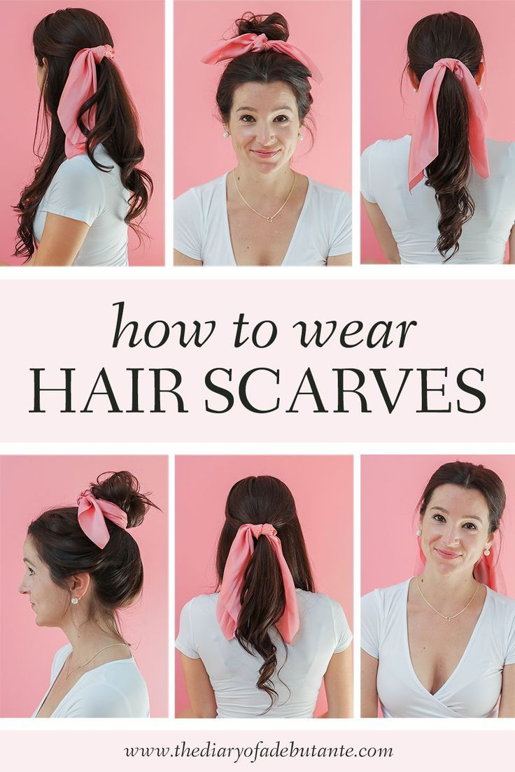 How To Wear Hair Scarves 3 Easy To Wear Hairstyles Fall Hair Refresh In 2020 Scarf Hairstyles Hair Styles Fall Hair