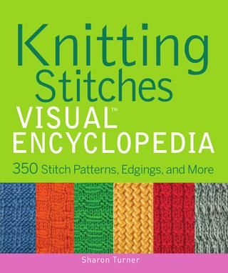 "online PDF book ♥ good quality! awesome book! ""Knitting stitches visual Encyclopedia"""