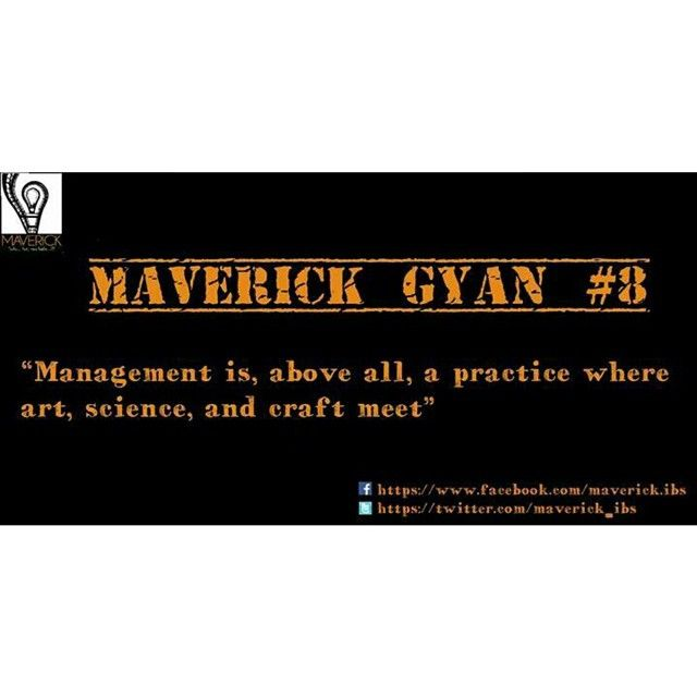 #maverickgyan #management #planning #artsciencecraft #intersection