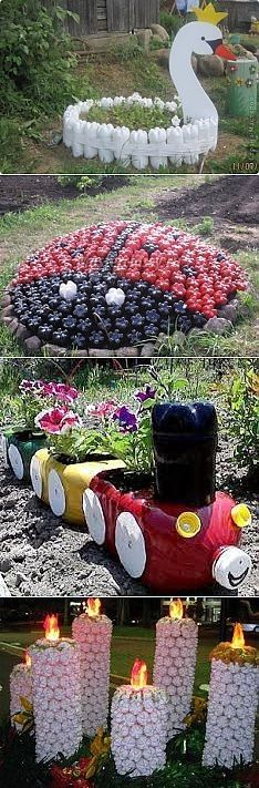 16 Cool Ways To Reuse Plastic Bottles