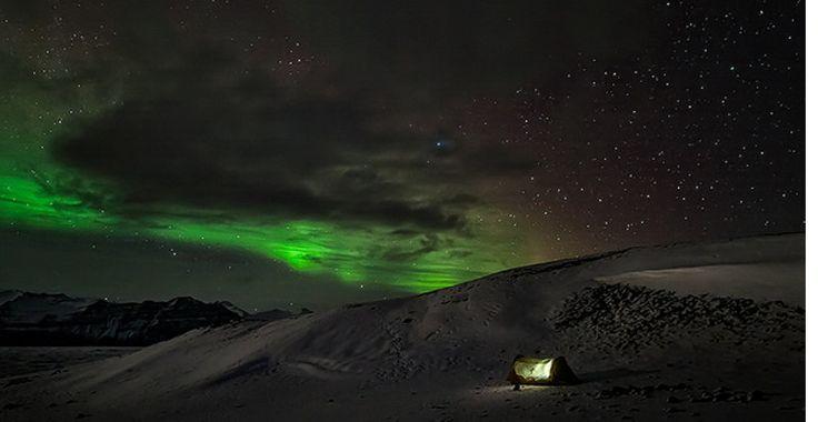 L'aurora boreale in Norvegia