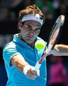 Roger Federer, great tennisplayer.