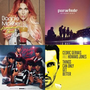 Check out the newest song list for Jazzercise R4-2013, featuring hot artists like Lady Gaga, Justin Timberlake, Katy Perry and Gavin DeGraw. Download your favorite songs from class from iTunes and take Jazzercise with you wherever you go!