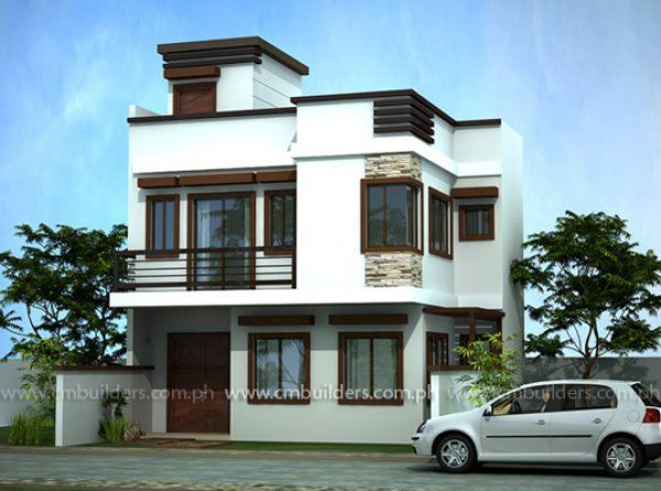 Simple modern house design in the philippines House plans and