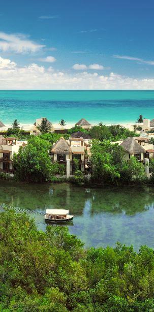 Grand Velas Riviera Maya, Fairmont Mayakoba--Water canals? Check. Tropical Forest? Check. Mangroves? Check.