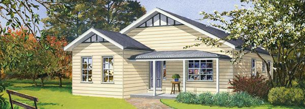 Australian Country Style Kit Homes | Flisol Home