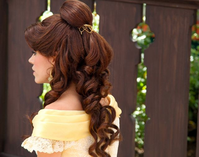 Belle. I seriously want her hair...