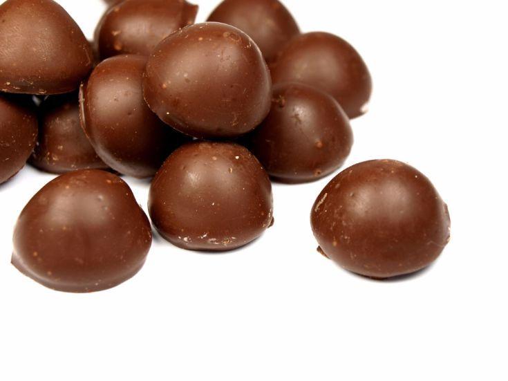 Čokoládové • pralinky