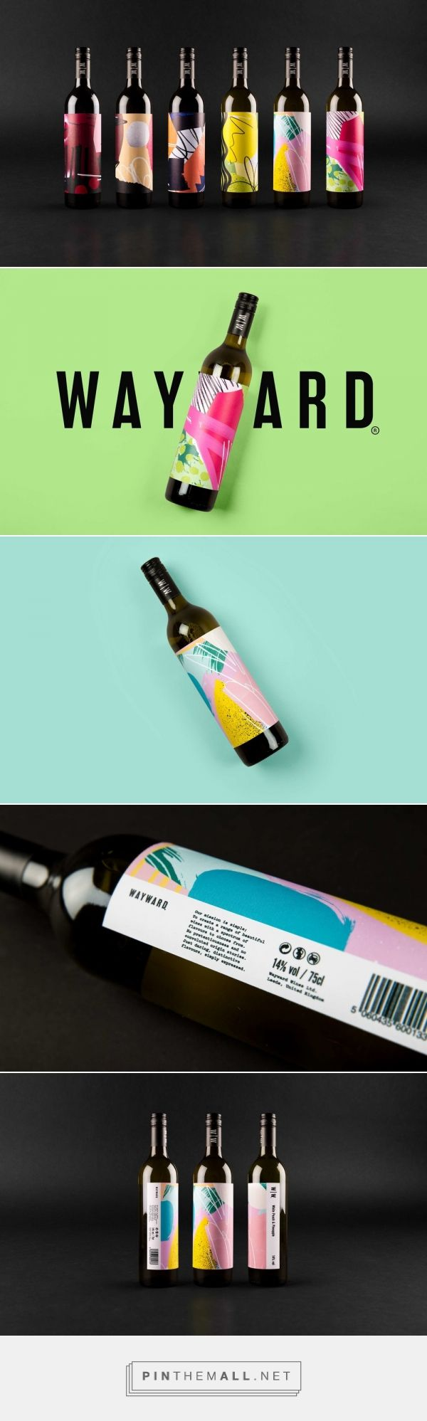 Wayward Wines Is Set to Disrupt The Wine Category — The Dieline | Packaging & Branding Design & Innovation News - created via https://pinthemall.net