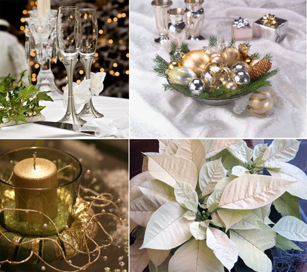 Winter Wedding Centerpieces Ornaments