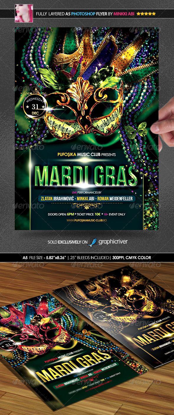 Mardi Gras Poster/Flyer