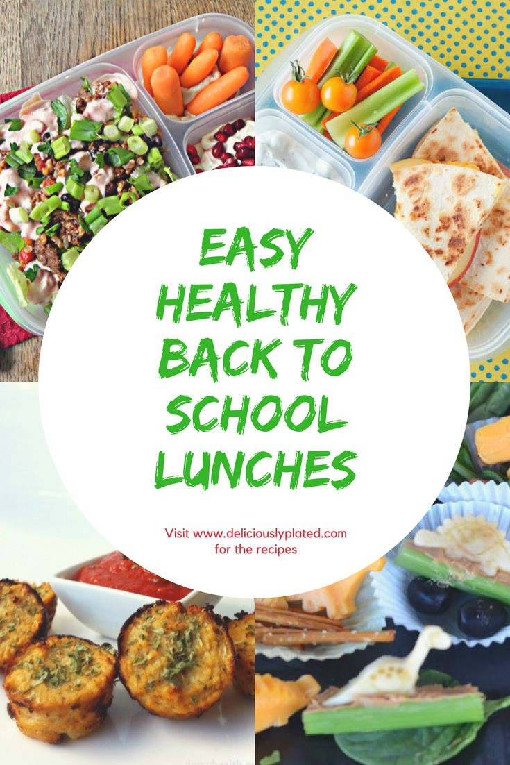Save time with these easy back to school lunch ideas!