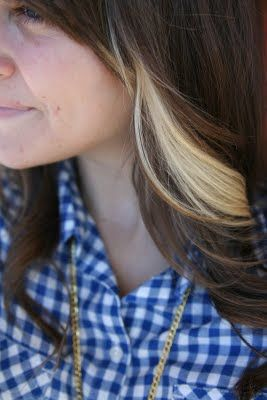 39 Best Images About Blonde Streaks On Pinterest Brown