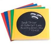 Bowling Party invitations. CD/DVD sleeve with a clear window (office supply store for pennies each) Black paperstock inserted and write on window with silver gel pen. Cute!