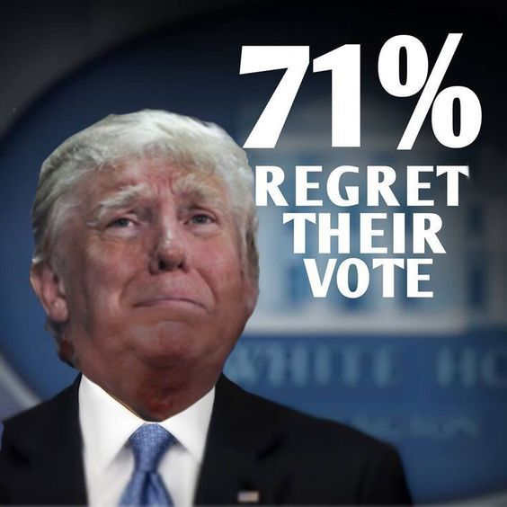 The incompetence of Trump is only exceeded by his own inability to accept his ever increasing list of failures as president. Lost by 2.8 million votes but yet still installed as president. The pompous pig was right about one thing, the election was rigged.