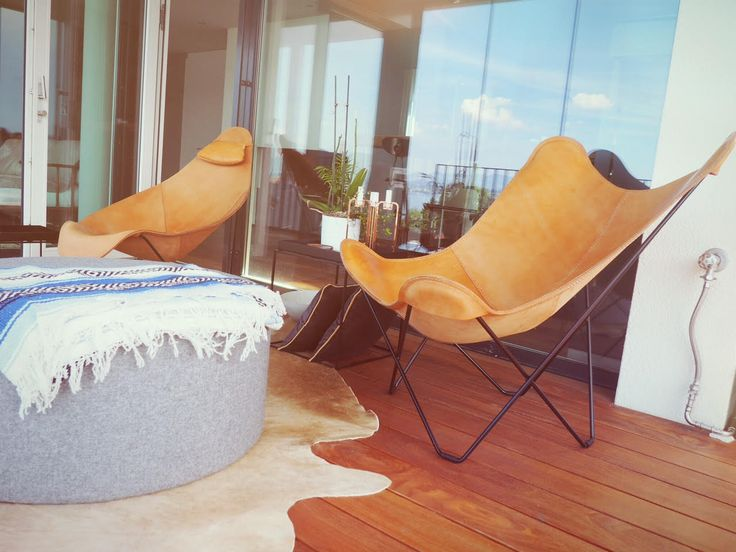 We can't get enough of this pair! Whether you decide upon the Butterfly Chair or the Abrazo, this is the life!  Thanks to Dominic for sharing his retreat with us.