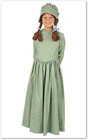 Pioneer Children S Costumes Laura Ingalls Wilder Costume Lily Pinterest And