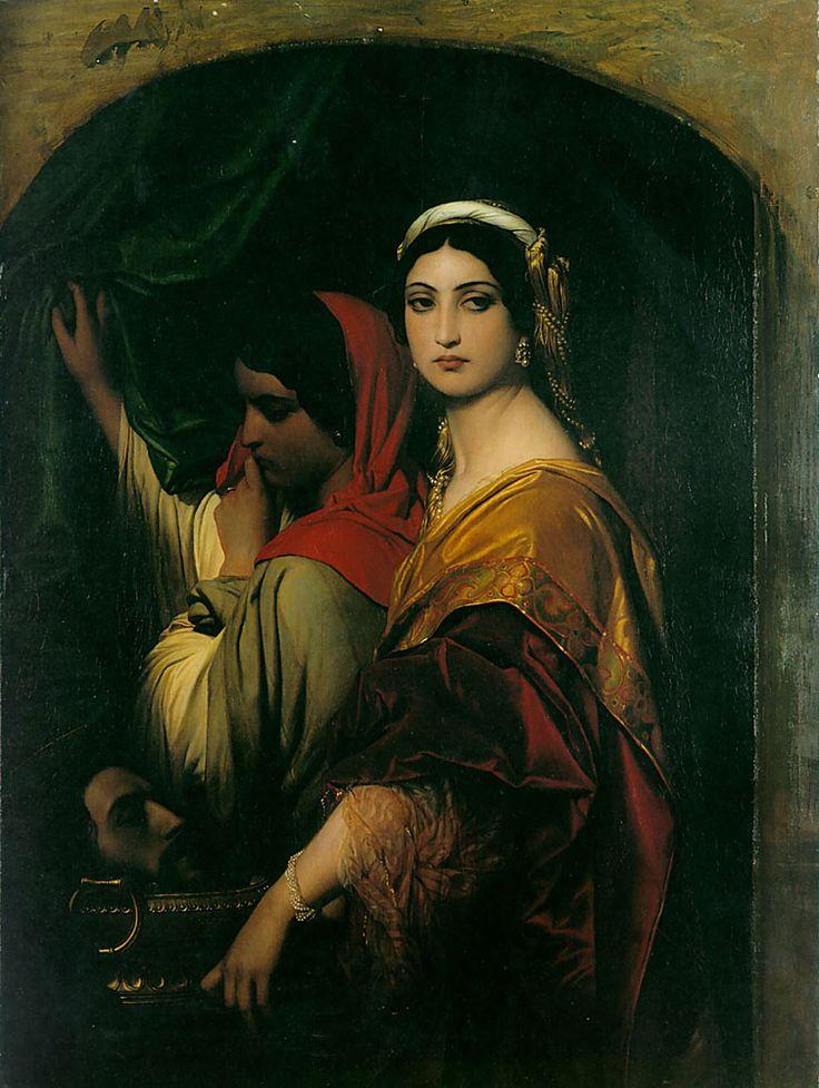 Herodias by Paul Delaroche