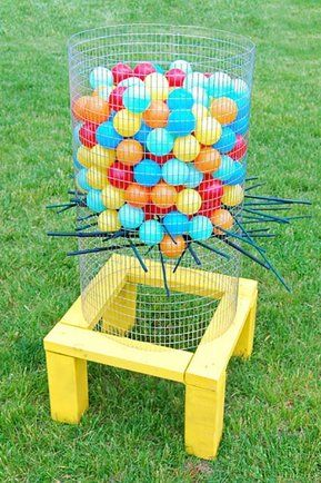 We Love This Backyard Ker Plunk From All Parenting It Makes A Fun DIY Summer Idea For Kids Plenty More Ideas On Frugal Coupon Living