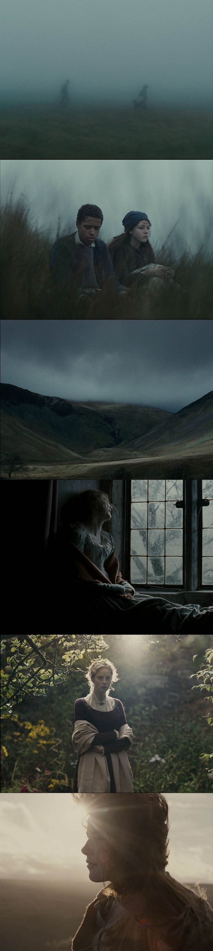 Wuthering Heights (Andrea Arnold, 2011) Cinematography by Robbie Ryan Sources: film-grab.com, bluray.com