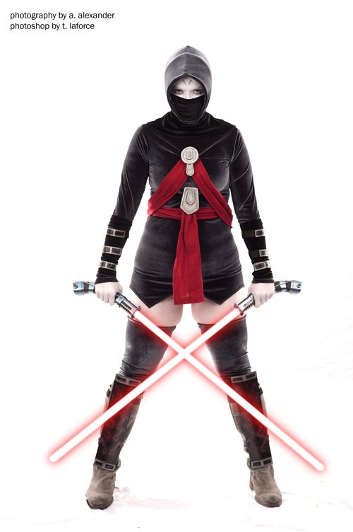 asajj ventress star wars cosplay our awesome geek girl critical miss looks badass cosplaying as asajj ventress from star wars the clone wars - Clone Wars Halloween Costumes
