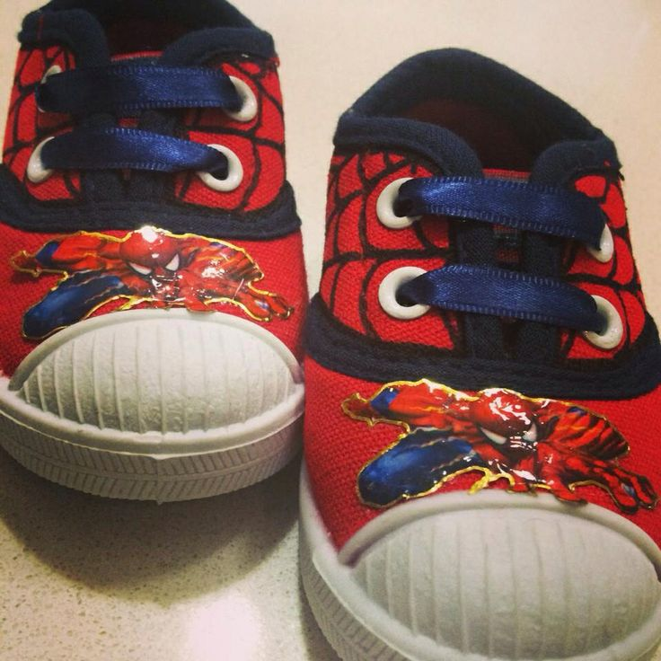 Spiderman mini shoes