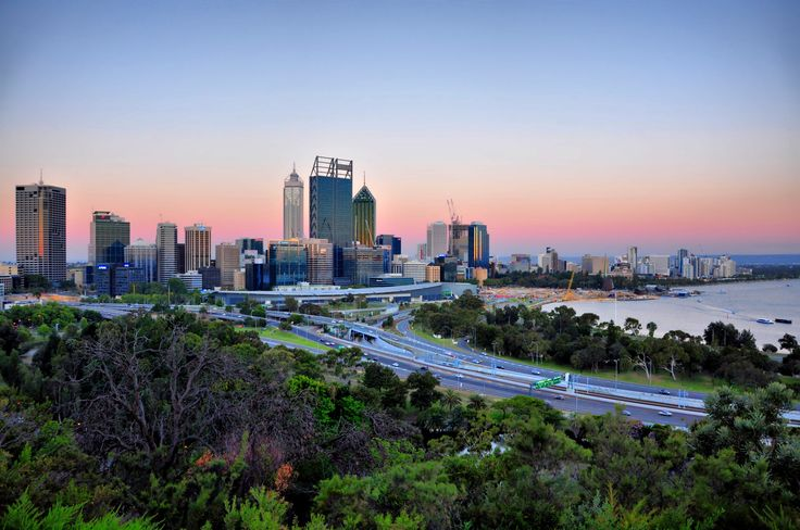 View of Perth from Kings Park. Taken using Nikon D90.