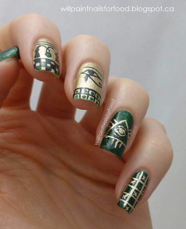 More Egyptian nails - 25+ Beautiful Egyptian Nails Ideas On Pinterest Matte Green