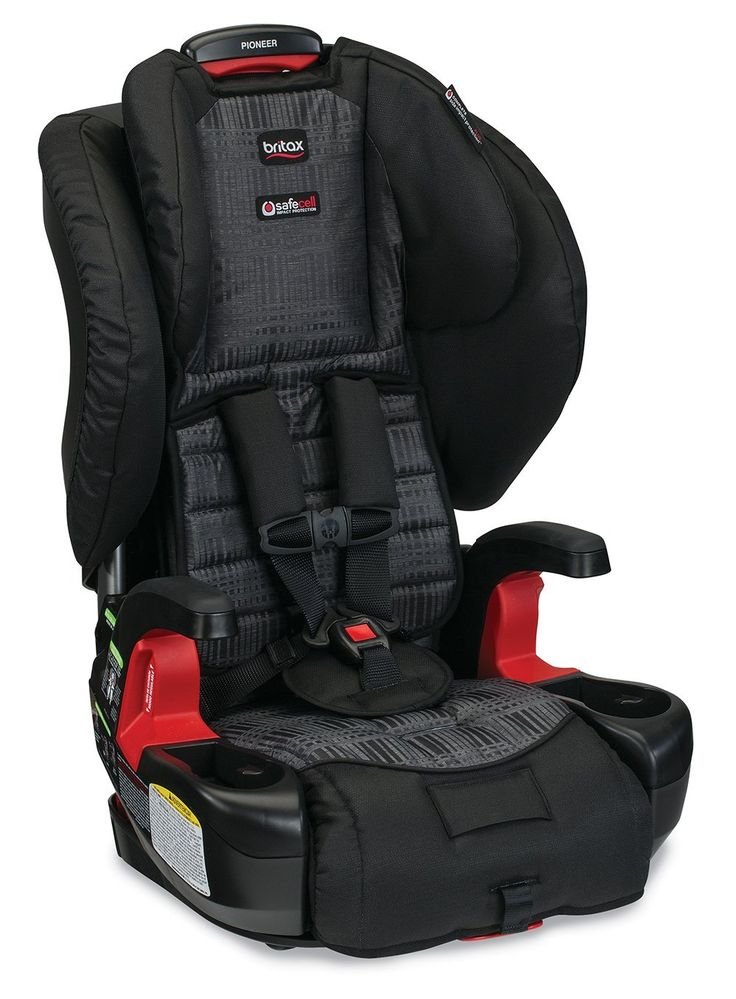 Britax Pioneer G1.1 Harness 2 Booster Car Seat   Suitable for Weight range: 25 - 110lbs  Available Colors: domino, coral, pacifica, silver cloud and kiwi  http://babyessentials101.com/top-ten-sellers-booster-car-seats-2015/  #toptenboostercarseats