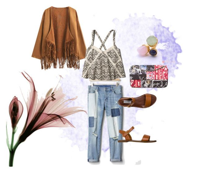 """boho patchwork"" by consuelo-cardenas on Polyvore featuring moda, Chanel, Gap, Chicnova Fashion, Abercrombie & Fitch y Steve Madden"